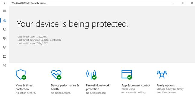 Windows Defender vs Avast 2019