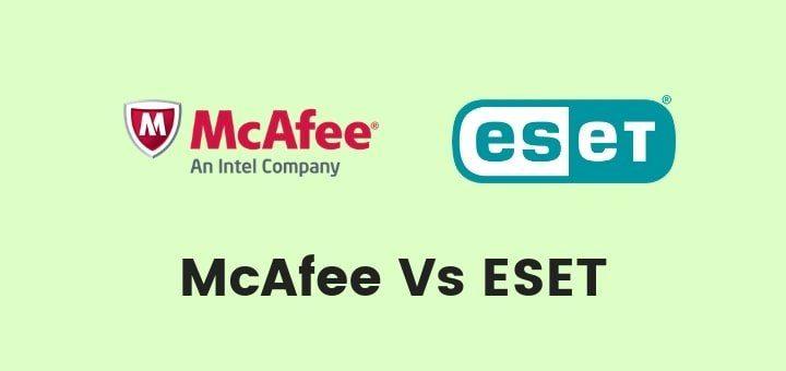 McAfee vs ESET