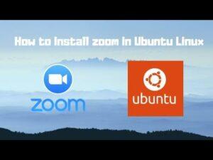 zoom for ubuntu