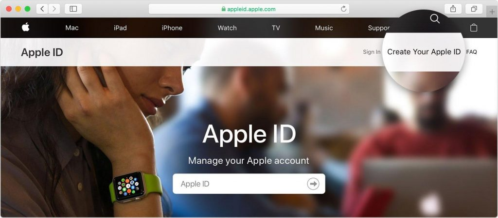 How to Create an Apple ID on a PC 3