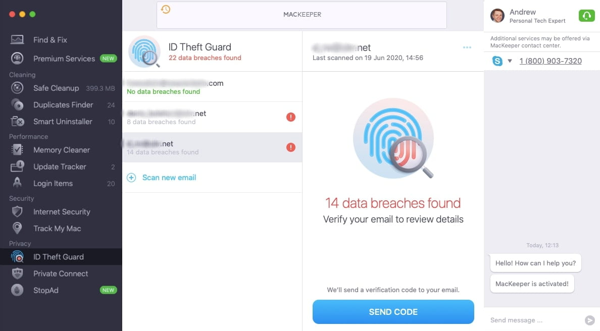 MacKeeper ID theft Guard