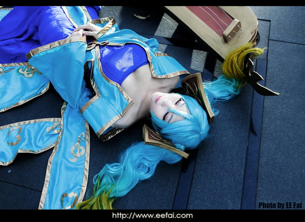 League Of Legends 英雄聯盟 Sona Cosplay