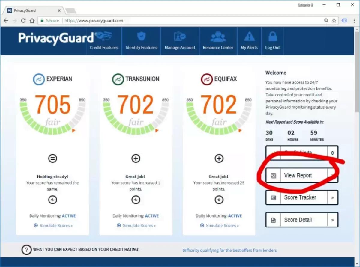 PrivacyGuard report details